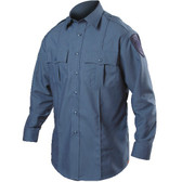 Blauer Cotton Blend  Long Sleeve Shirt | 8431