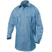 Blauer Wool Blend Long Sleeve Shirt   8450