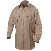 Blauer Zippered Polyester Long Sleeve Shirt   8600Z