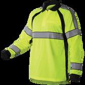 Blauer 8147 Hi-Vis L/S Polo Shirt