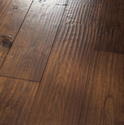 HomerWood Amish Hand Scraped Black Walnut Saddle Hardwood Flooring