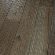 HomerWood Amish HandScraped Hickory Graphite Hardwood Flooring