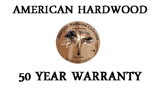 American Hardwood Collection with 50 Year Warranty