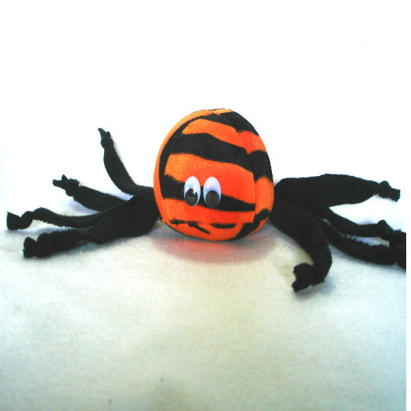 Fun leggy Tiger Spider to get your pet ready for Halloween!