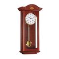 "Wall Clock - ""Oxford"" - 4/4 Chime - Walnut Finish - Hermle"