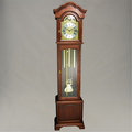 Floor Clock - 4/4 Chime - Hardwood - Mahogany Finish - HB & Sons