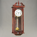 "Wall Clock - ""Waterloo"" - 4/4 Chime - Mahogany Finish - Hermle"