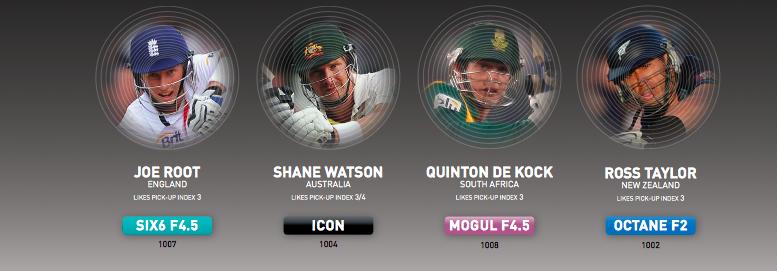 GM 2015 player edition cricket bats