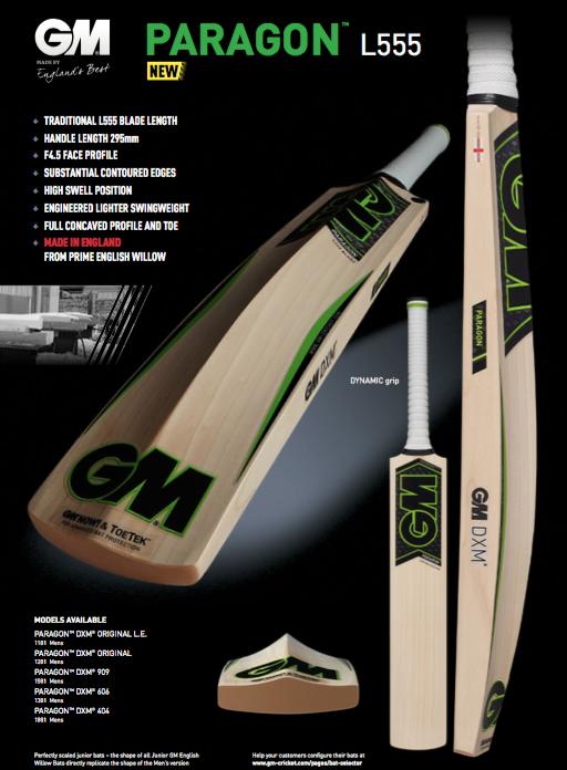 GM Mana L540 Cricket Bat image