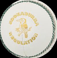 Kookaburra Regulation Cricket Ball - White