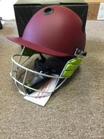 Kookaburra Apex Cricket Helmet Maroon