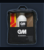 The gm bat repair kit comes with oil, cloth, san paper, toe guards x 2 and glue.
