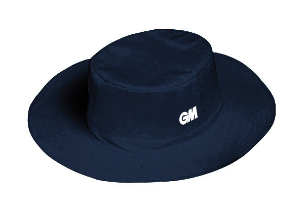Navy blue floppy panama GM cricket hat