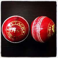 CA Attack Cricket Balls ( Red )