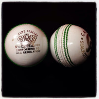 This high quality hand stitched leather cricket ball is great for 20 and 40 over cricket
