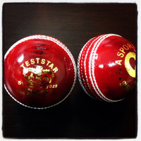 CA Test Star Cricket Ball Red