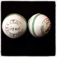CA Attack cricket ball white