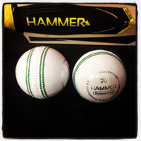 Hammer Pro White Cricket Ball