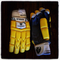 Hammer Pro Yellow T20 Batting Gloves