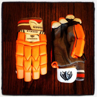 Hammer Pro Orange T20 Batting Gloves