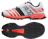Adidas SL22 FS II WhiteSolarRedBlack Cricket Shoe
