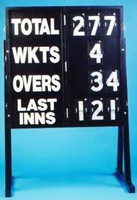 Cricket Score board, portable, foldaway ( Stand Optional )
