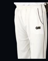 GM Cricket Teknik Trouser Blue trim