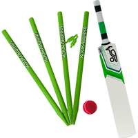 Kookaburra Ian Bell Wooden cricket set 2