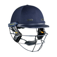 The test masuri helmet features the single bar for greater visibility
