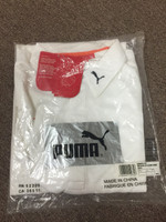 Puma ice white shirt ( L )