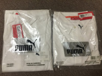 Puma ice white shirt & pants set ( XL )
