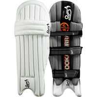 Kookaburra Onyx batting pads, a sleek and lightweight design offering the best in protective engineering and modern style.