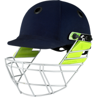 Kookaburra's unique size adjustment feature allows players to quickly and easily adjust the fit, increasing protection and maximizing visibility.