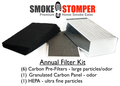 Smoke Stomper - Annual Filter Kit