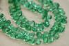 Emerald Green Quartz Faceted Pear Briolettes