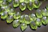 Peridot Green Quartz Faceted Marquise Briolettes
