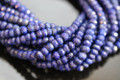 Lapis Lazuli Faceted Rondelles