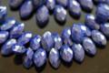 Lapis Lazuli Faceted Marquise Briolettes