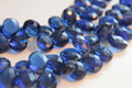 Kyanite Blue Quartz Faceted Pear Briolettes