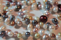Multi Color Top-Drilled Tear Drop Shape Freshwater Pearls, 6 - 10 mm