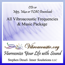 All VAT Frequencies and Vibroacoustic Music Pkg