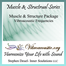 Inner Soulutions VAT Frequencies - Muscle and Structure Package