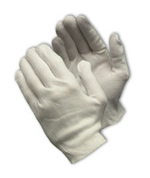 PIP Cotton, Light Weight, Premium, Unhemmed Gloves, Inspection