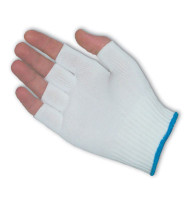 PIP Nylon Liners without Coating Fingerless Gloves