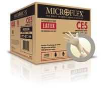 Microflex CE5-512 Cleanroom Latex Gloves