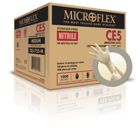 Microflex CE5-755 Cleanroom Nitrile Gloves