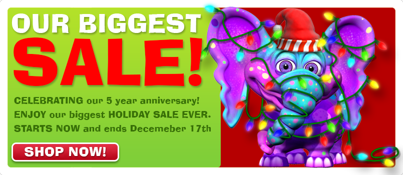 Our Biggest Sale Ever!