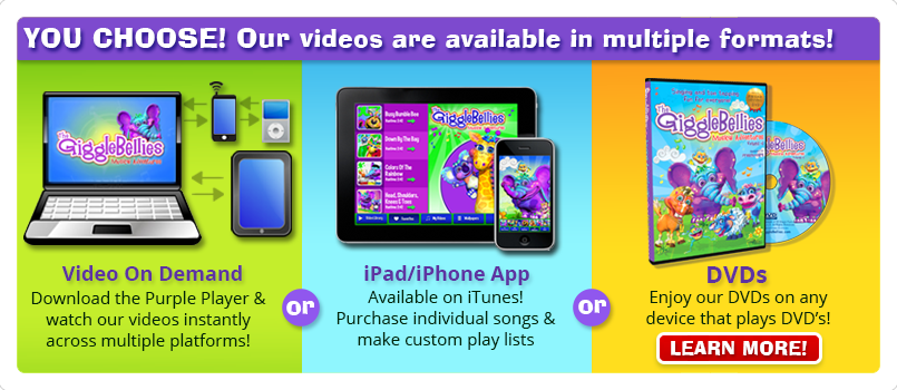 Video series available in different formats!