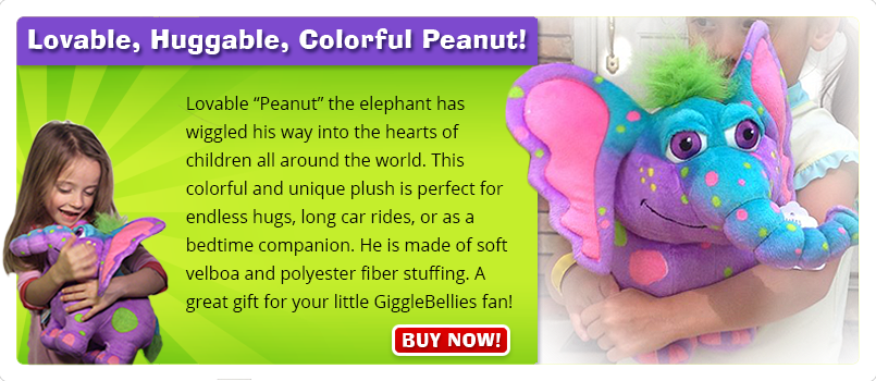 Get the Peanut Plush Toy!