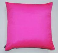 Plain Silk Cushion - Bubble Gum Pink